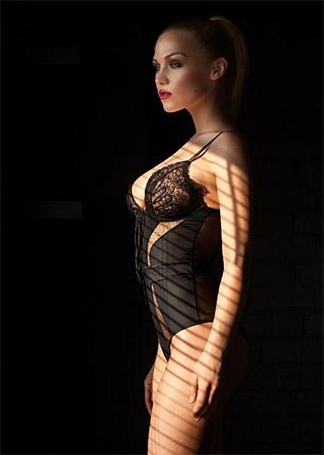 Российская модель Евгения Вавринюк <br> Фотография: http://tltgorod.ru