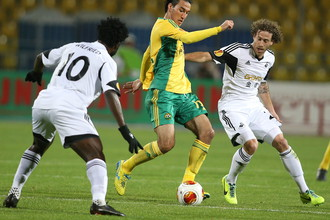 «Кубань» одержала первую победу в групповом турнире Лиги Европы