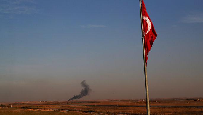 Последствия обстрелов сирийской территории на границе с Турцией, 9 октября 2019 года