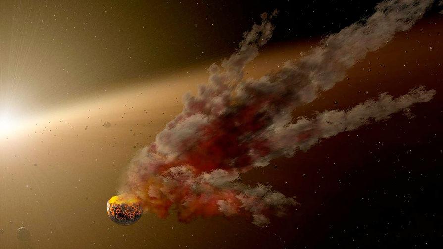 """""""Падение метеорита"""": над Кубой произошел взрыв"""