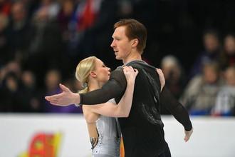 Российские фигуристы Евгения Тарасова и Владимир Морозов