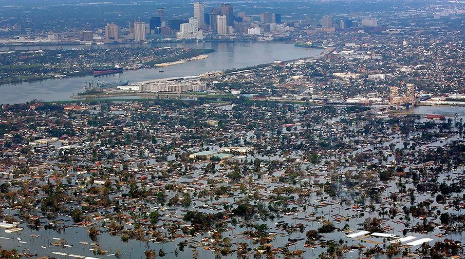 Новый Орлеан затапливает новый ураган