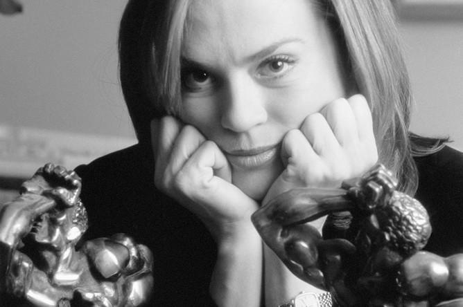 Российская журналистка, член Академии Российского телевидения Светлана Иннокентьевна Сорокина, 2000 год