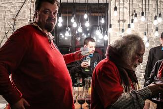 Василий Уткин на праздновании 60-летия главного редактора радиостанции «Эхо Москвы» Алексея Венедиктова, декабрь 2015 года
