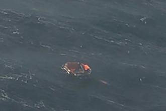 Плот, обнаруженный в ходе спасательной операции