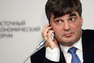 Директор Информационно-исследовательского центра Объединенной ракетно-космическая корпорации Дмитрий Пайсон на Восточном экономическом форуме во Владивостоке