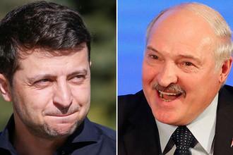 Селфи с усами: Зеленского насмешила шутка про Лукашенко