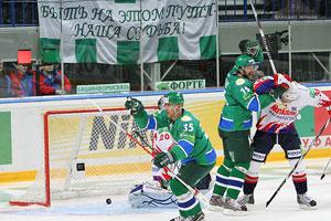 «Салават Юлаев» добился победы над «Магниткой»