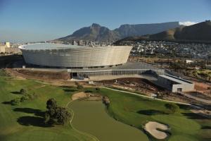 Южноафриканский стадион в Кейптауне