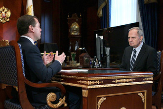 Дмитрий Медведев предложил Валерию Зорькину в пятый раз возглавить Конституционный суд