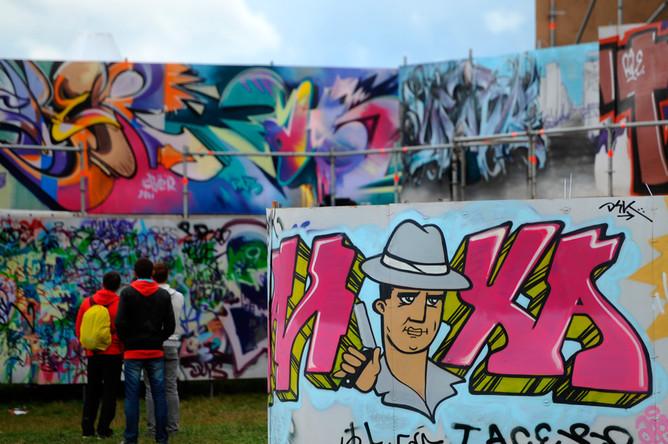 Московские власти хотят запечатлеть Отечественную войну 1812 года в граффити