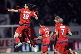 ПСЖ добыл очередные три очка в чемпионате Франции