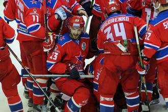 ЦСКА второй раз подряд победил «Лев» в овертайме