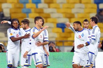 Киевские динамовцы пытаются компенсировать неровное выступление в чемпионате Украины успехами в Лиге Европы