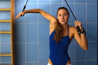 Спортсменка сборной России по плаванию Дарья Устинова