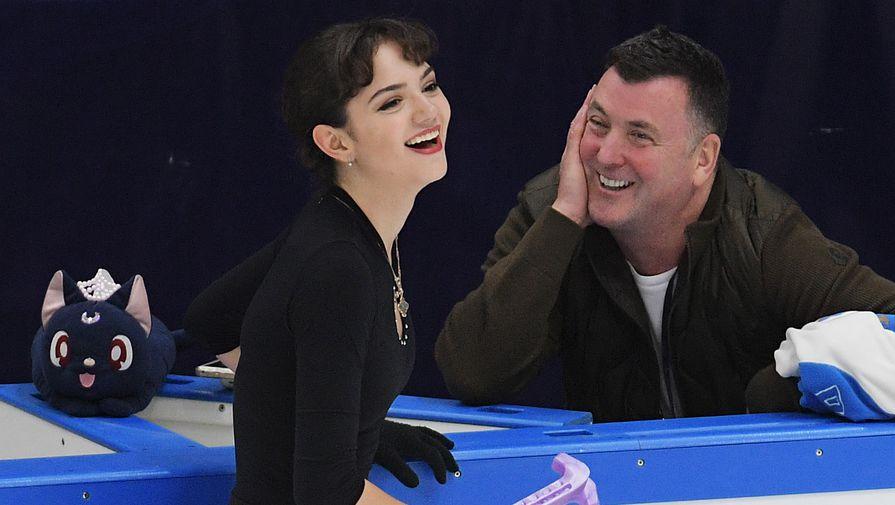 Медведева заняла второе место по итогам произвольной программы на турнире в Канаде