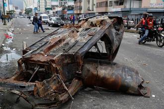 Последствия беспорядков в Каракасе, Венесуэла, 24 января 2019 год