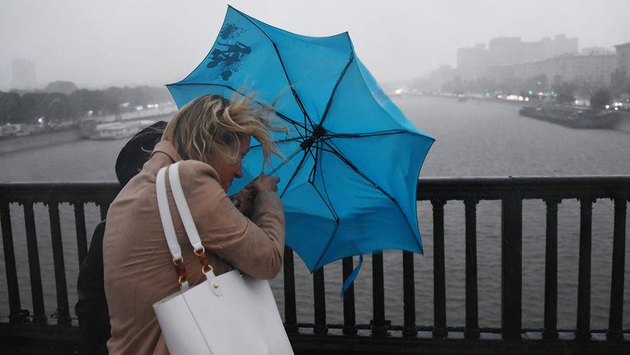 В Москве ожидается гроза, сообщили синоптики