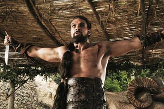 Джейсон Момоа в первом сезоне сериала «Игра престолов»
