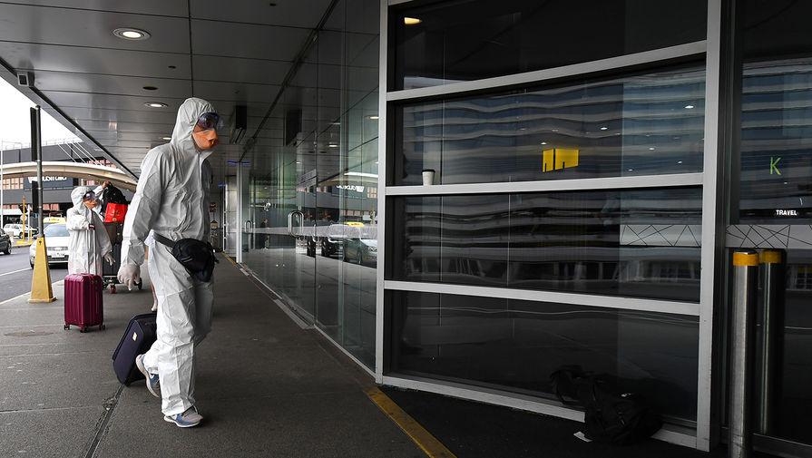 Ситуация в аэропорту Мельбурна, Австралия, 16 марта 2020 года