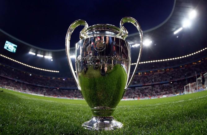 Кубок чемпионов на «Альянц Арене», где в мае пройдет финал Лиги