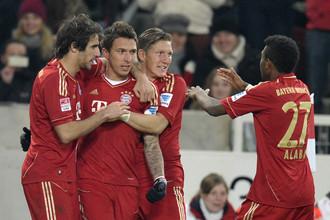 «Бавария» победила «Штутгарт» уверенно, но не так легко, как в первом круге