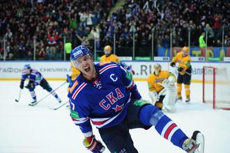 Илья Ковальчук стал одним из главных героев матча СКА — «Атлант»
