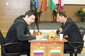 Крамник против Топалова
