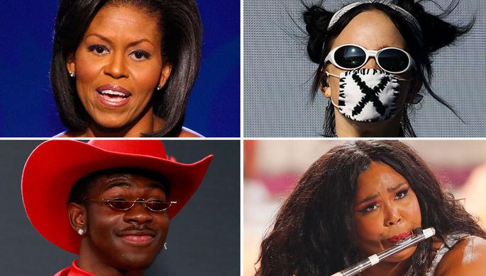 Мишель Обама/Билли Айлиш/Lil Nas X/Lizzo