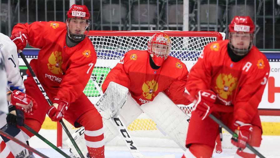 Стал известен состав юниорской хоккейной сборной России на матч ЧМ с Финляндией