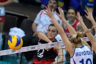 Российские волейболистки не могут выиграть чемпионат Европы уже 10 лет