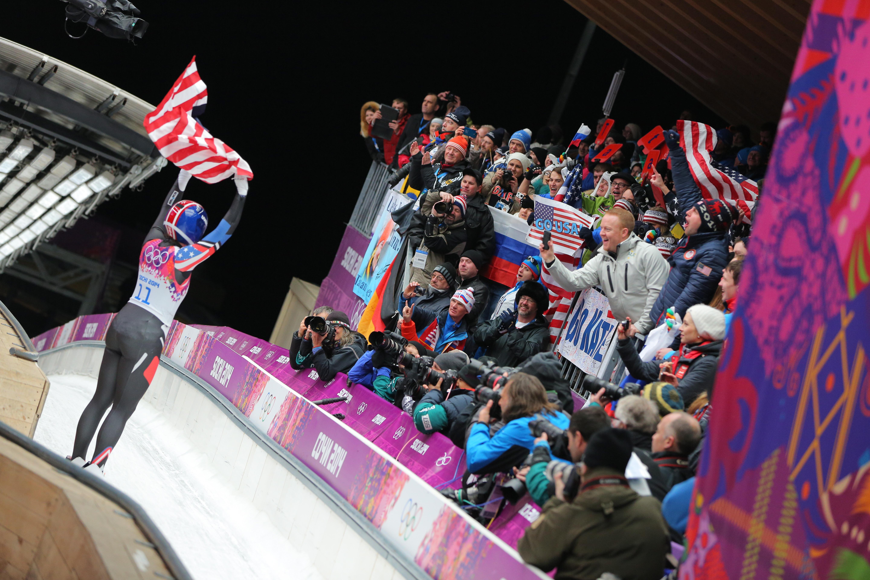 Санный спорт на Олимпиаде в Сочи