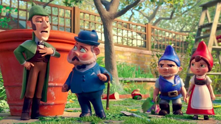 Кадр из мультфильма «Шерлок Гномс» (2018)