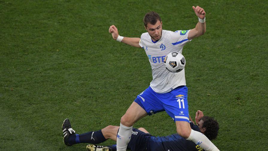 Игрок «Динамо» Николай Комличенко