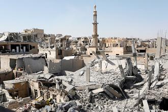 Ракка, Сирия, 19 августа 2017