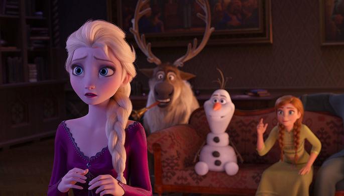 Кадр из мультфильма «Холодное сердце 2» (2019)