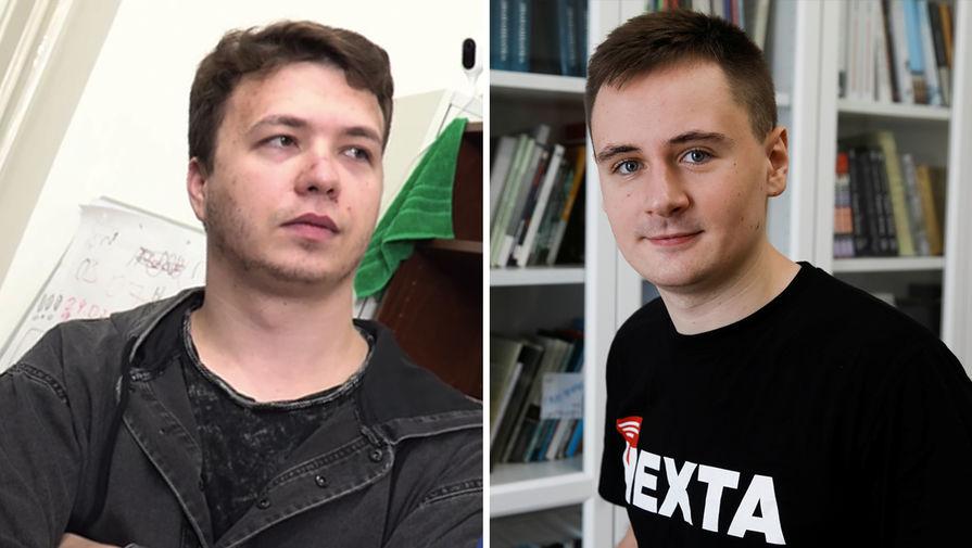 Основатели Nexta Роман Протасевич и Степан Путило