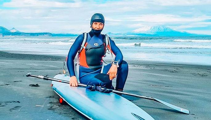 Российская серфингистка Елена Прохорова