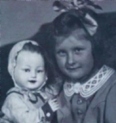 Людмила Иванова в детстве