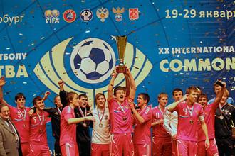 Год назад сборная России стала победителем Кубка Содружества