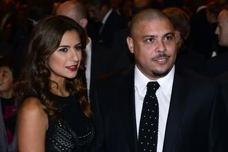 Паула Мораиш и Роналдо