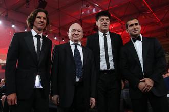 Алексей Смертин, Никита Симонян, Ринат Дасаев и Александр Кержаков