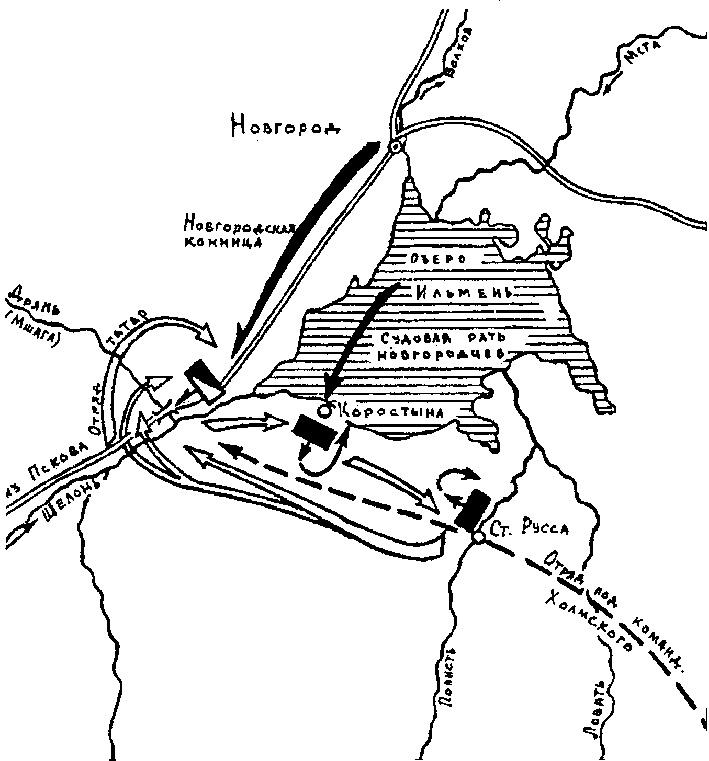 Шелонская битва, 1471