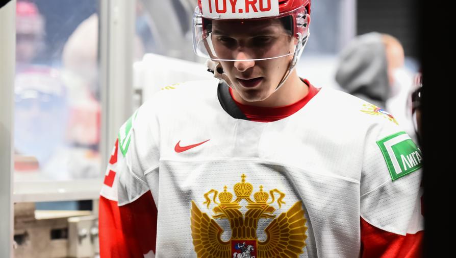 Хоккеист молодежной сборной России Ян Кузнецов