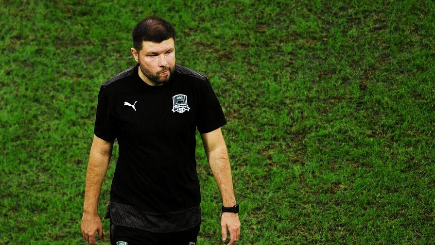 Мурад Мусаев на посту главного тренера «Краснодара»