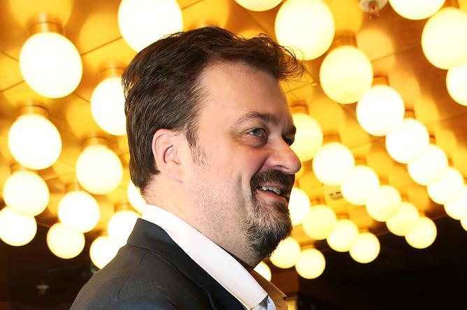 Василий Уткин на премьере фильма Оксаны Карас «Хороший мальчик» в Москве, ноябрь 2016 года