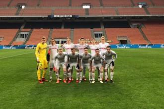 Матч Юношеской лиги УЕФА «Интер» — «Спартак»
