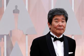 Режиссер анимации Исао Такахата на церемонии награждения премией «Оскар» 2015 года