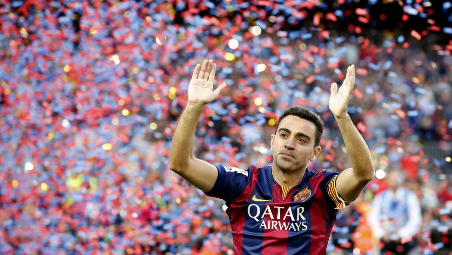 Легенда «Барселоны» Хави