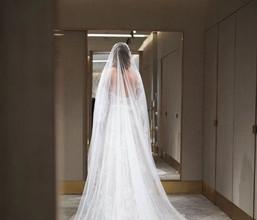 Свадебное платье Ксении Собчак, 13 сентября 2019 года